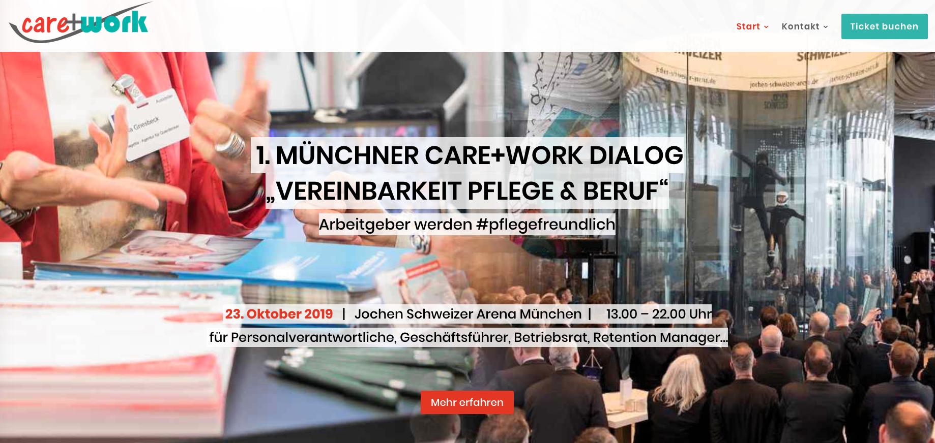 1. Münchner care+work Dialog