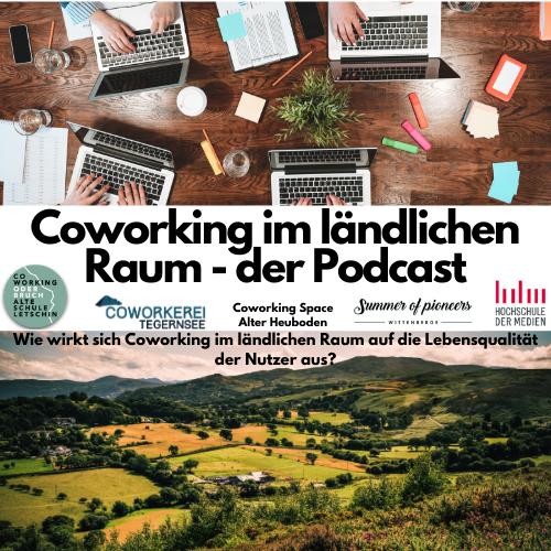 Spannender Podcast der Hochschule für Medien Stuttgart zum Thema Coworking
